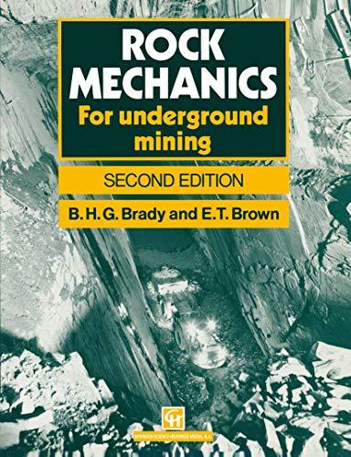 9780412475504: Rock Mechanics: For Underground Mining