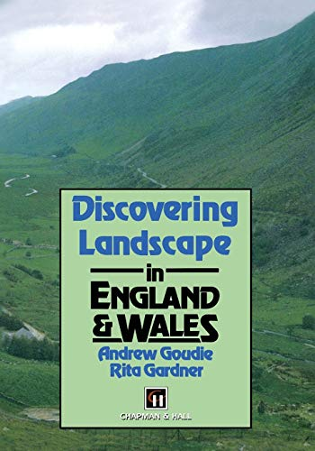 9780412478505: Discovering Landscape in England & Wales