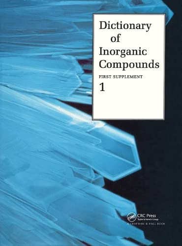 Dictionary of Inorganic Compounds: Supplement 1 (Hardback)