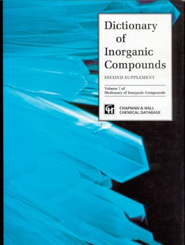 9780412491009: Dictionary of Inorganic Compounds, Supplement 2