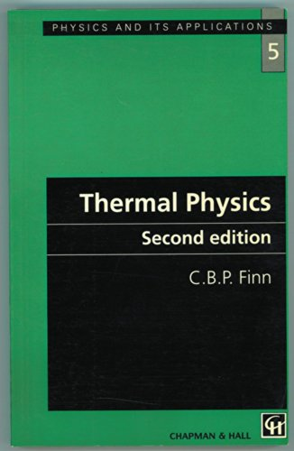 9780412495403: Thermal Physics