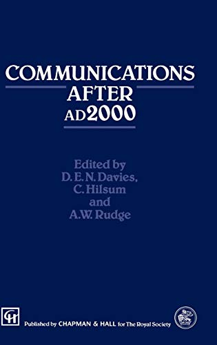 Communications After 2000 Ad (Techno Logy In The Third Millennium)