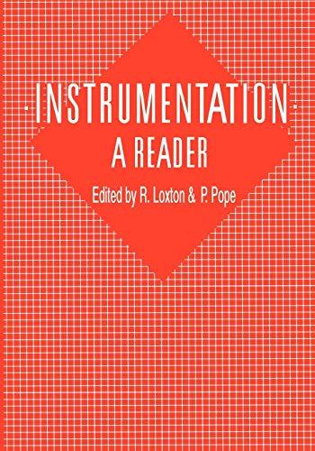 9780412534003: Instrumentation: A Reader: A Reader