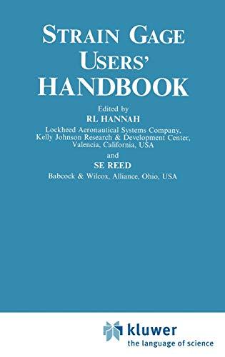 9780412537202: Strain Gage Users' Handbook