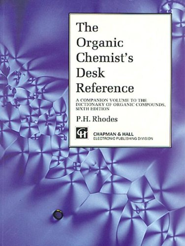 9780412541001: Organic Chemist's Desk Reference, Second Edition