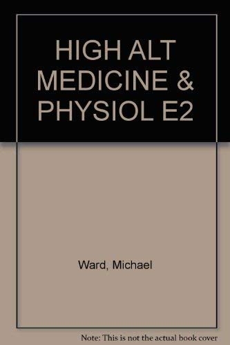 9780412546105: HIGH ALT MEDICINE & PHYSIOL E2