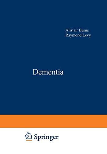 9780412547409: DEMENTIA - BURNS & LEVY