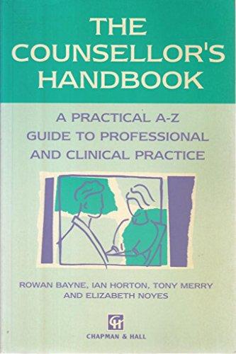 9780412552205: The Counsellor's Handbook