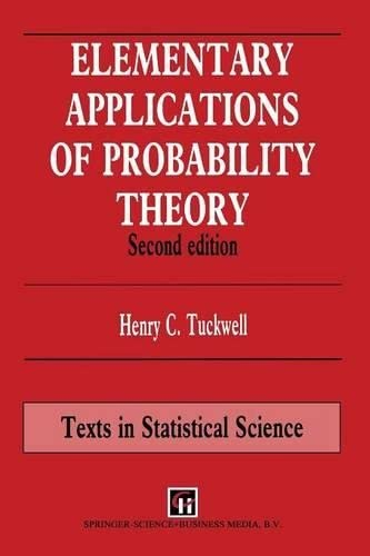 9780412576201: Elementary Applications of Probability Theory, Second Edition (Chapman & Hall/CRC Texts in Statistical Science)