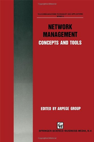 9780412578106: Network Management Concepts and Tools (Telecommunications Technology & Applications Series)