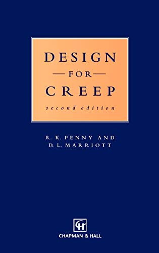 9780412590405: Design for Creep