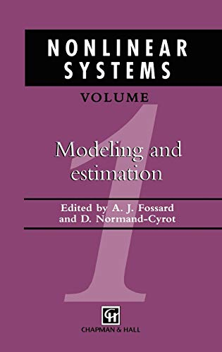 9780412599903: Nonlinear Systems, Volume 1: Modeling and Estimation (v. 1)