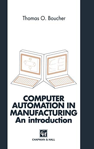 9780412602306: Computer Automation in Manufacturing: An introduction