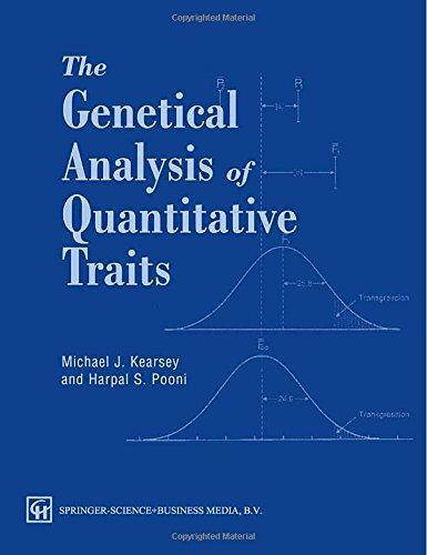 9780412609800: The Genetical Analysis of Quantitative Traits