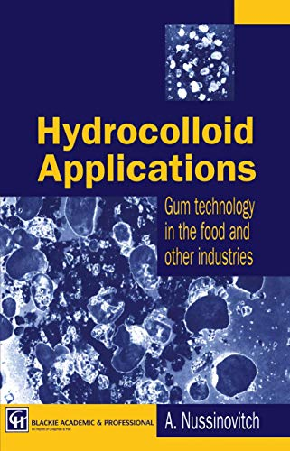 9780412621208: Hydrocolloid Applications: Gum technology in the food and other industries