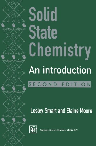 9780412622205: Solid State Chemistry: An Introduction