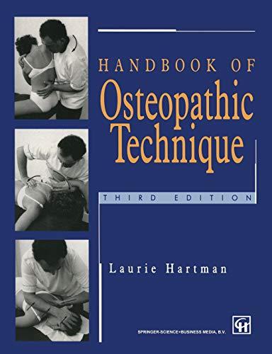 9780412623103: Handbook of Osteopathic Technique