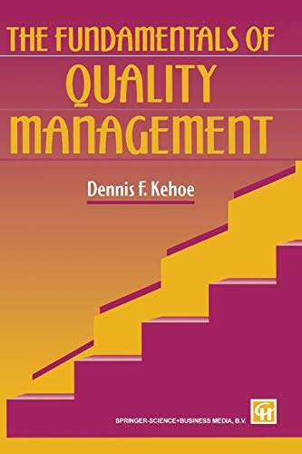 9780412626906: The Fundamentals of Quality Management