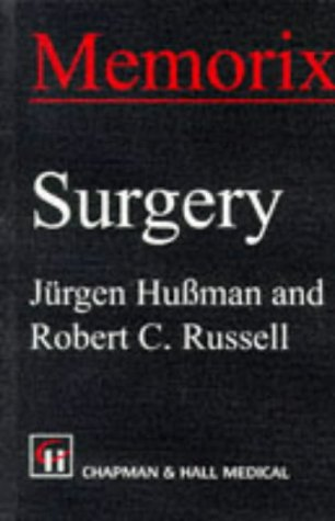 9780412629105: Memorix Surgery (Memorix Series)