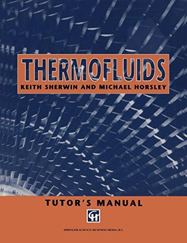 9780412637506: Thermofluids: Tutor's Manual