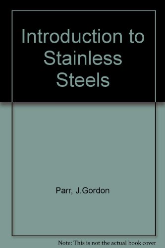 9780412677908: Introduction to Stainless Steels