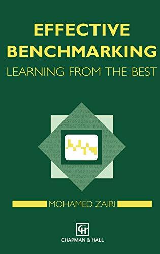 Effective Benchmarking: M. Zairi