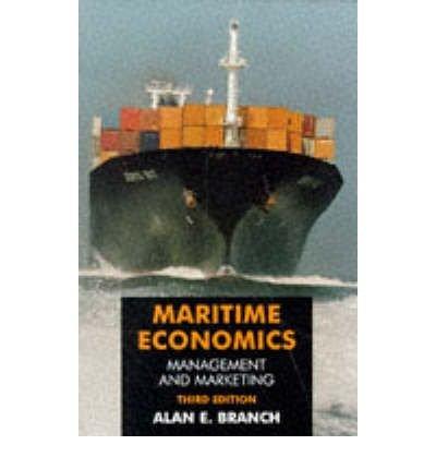 9780412724305: Maritime Economics: Management and Marketing