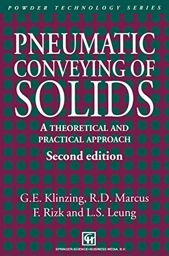 9780412724404: Pneumatic Conveying of Solids: A theoretical and practical approach (Particle Technology Series)