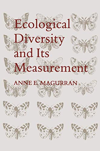 9780412741005: Ecological Diversity and Its Measurement