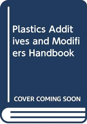 9780412741203: Plastics Additives and Modifiers Handbook