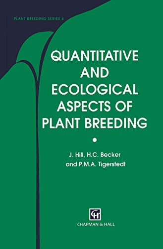 9780412753909: Quantitative and Ecological Aspects of Plant Breeding