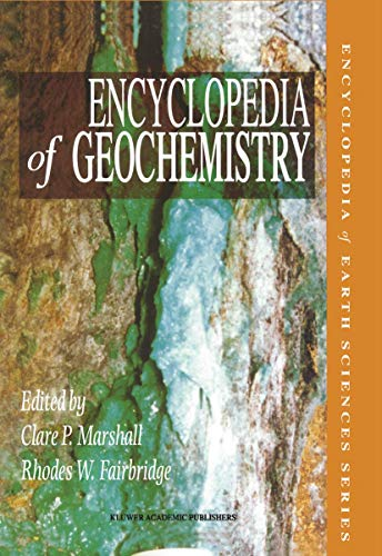 Encyclopedia of Geochemistry: Marshall, C. P.