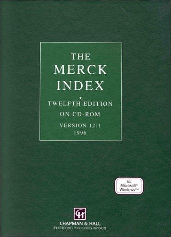 9780412756504: Merck Index, Twelfth Edition on CD-Rom