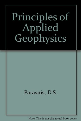 9780412802508: Principles of Applied Geophysics