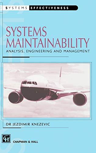 Systems Maintainability (Systems Effectiveness): Knezevic, J.