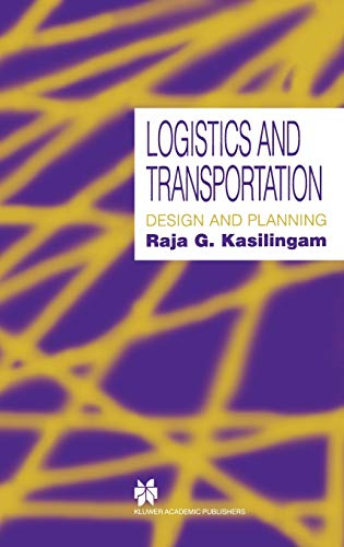 9780412802904: Logistics and Transportation: Design and planning