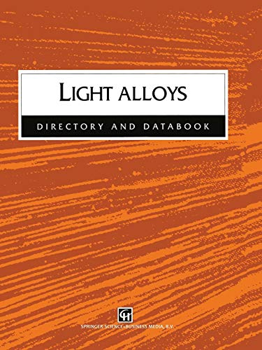 9780412804106: Light Alloys Directory and Databook: Directory and Databook