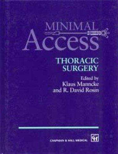 9780412816000: Minimal Access Thoracic Surgery