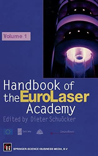 9780412819100: Handbook of the Eurolaser Academy