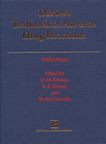 9780412824807: Davies's Textbook of Adverse Drug Reactions
