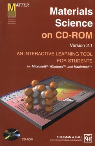 9780412836602: Materials Science on CD-ROM