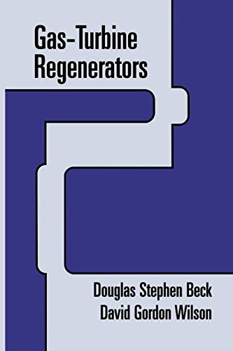 9780412983313: Gas-Turbine Regenerators