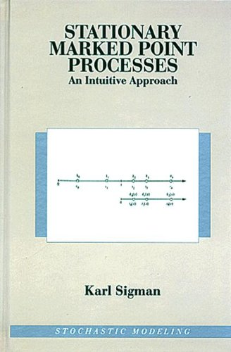 9780412984310: Stationary Marked Point Processes: An Intuitive Approach (Stochastic Modeling Series)