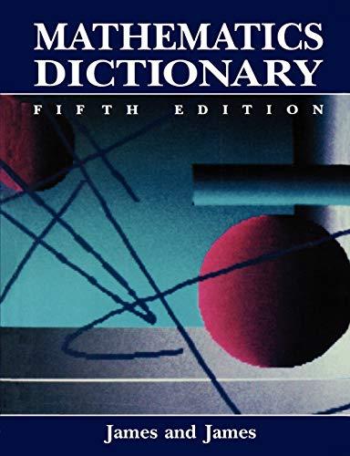9780412990410: Mathematics Dictionary