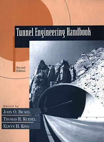 9780412992919: Tunnel Engineering Handbook