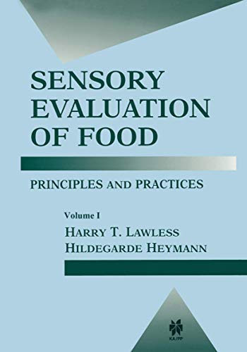 9780412994418: Sensory Evaluation of Food: Principles and Practices (Food Science Texts Series)