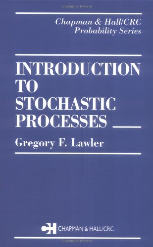 9780412995118: Introduction to Stochastic Processes (Chapman & Hall/CRC Probability Series)