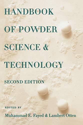 Handbook of Powder Science & Technology: Fayed, Muhammed, Otten, Lambert