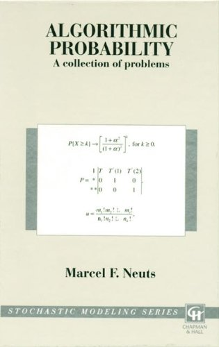 9780412996917: Algorithmic Probability: A Collection of Problems (Stochastic Modeling Series)