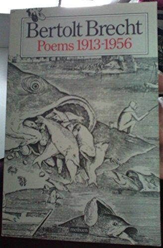 9780413152107: Bertolt Brecht Poems 1913-1956: 1913-56 Pts.1-3 in 1v